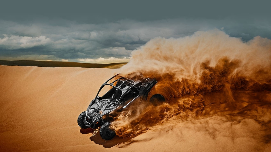 Can Am Maverick X3 Turbo Rental Dubai